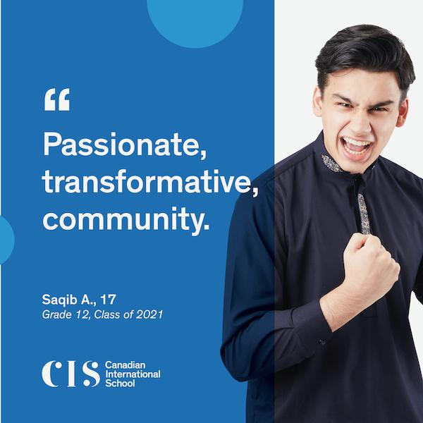 Canadian International School, CIS, Class of 2021, IB Diploma