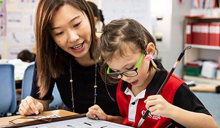 Experienced, native speaking teachers