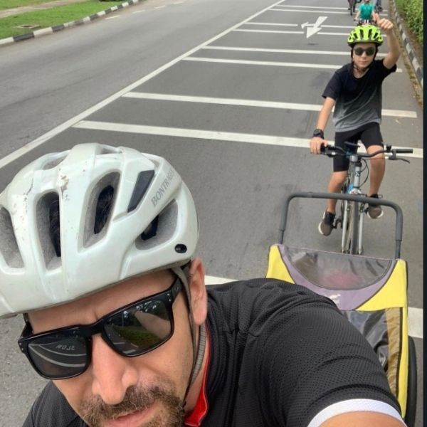 Canadian International School, primary schools in Singapore, charity, biking for charity, charity organisation, fundraising, raising money for charity, cancer research, international schools in Singapore, service and action