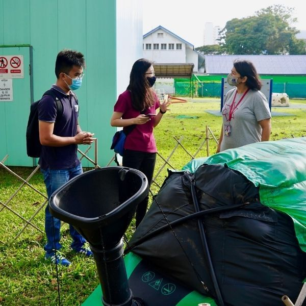 sustainability, Tanjong Katong, Canadian International School, primary schools in Singapore, Homebiogas, food waste, organic waste, waste treatment, biogas, cooking, fertilizer