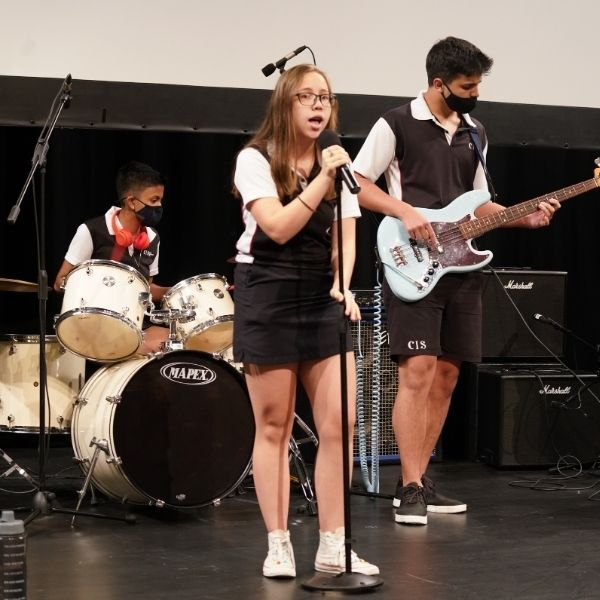 student performance, student musicians, Canadian International School, secondary schools in Singapore, international schools in Singapore, grade 12 graduation, awards ceremony, IBDP