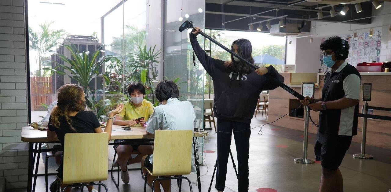 Canadian International School, international schools in Singapore, secondary schools in Singapore, secondary design, student work, student project, film-making, student achievement, film festival